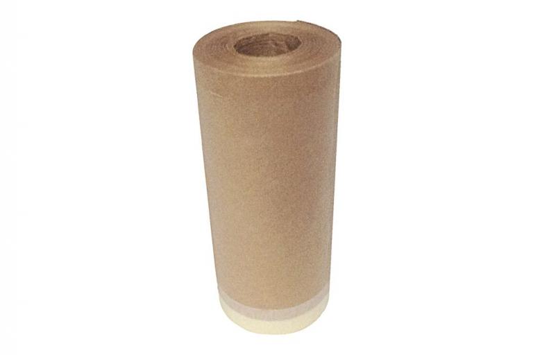 Papel con cinta para proteger