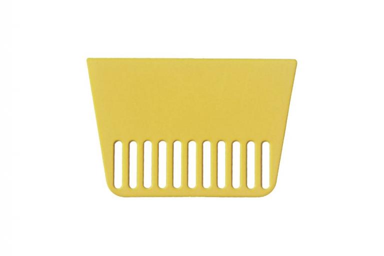 Espátula plástico para empapelar juntas y ángulos